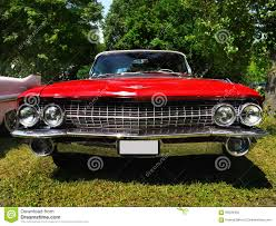 old american luxury car 2 door cadillac de ville convertible 1961 front view more car photos can be found in my portfolio