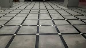 flooring designs. Unique Flooring Granite Parking Flooring With Granite Border And Dimand Pieces Design In Flooring Designs