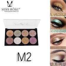 miss rose glitter eyeshadow powder dard red gold silver eye shadow pigment waterproof flash metallic eyeshadow ms165 eye makeup for green eyes eye makeup