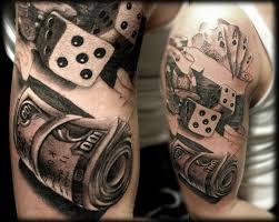Tattoos Casino Designs Tattoo Tatuaje Real Realismo Realistic Realista