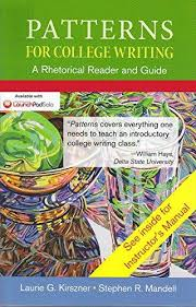 Patterns For College Writing Inspiration 48 Patterns for College Writing A Rhetorical Reader