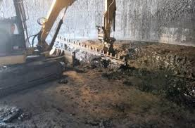 project tanks flux oil and asphalt removal internal cleaning and degassing location savannah ga eisco provided technical and professional services oil tank cleaning equipment