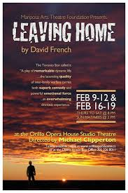 Leaving Home Quotes Custom Leaving Home In Orillia David French