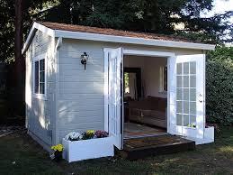 tiny backyard home office. Wonderful Backyard Prefabricated Studios The Shed Shop Studio Model U2013 Ideal For Backyard Home  Fice Or  Throughout Tiny Office