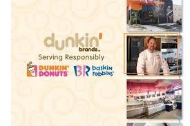 Dunkin Donuts Allergen Chart Csr Annual Report Pdf 2010 Indd