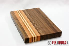 Cutting Board Patterns Inspiration How To Make A Cutting Board From Any Wood FixThisBuildThat