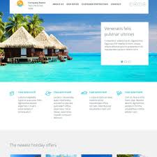 Travel Templates Travel Agency Responsive Website Template