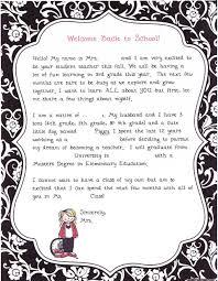 Student Teacher Introduction Letter Teacher Introduction