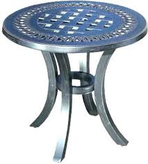 round metal patio table small metal patio table round metal patio table chic outdoor patio side