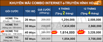 VNPT Bình Tân khuyến mãi lắp mạng internet cáp quang truyền hình Mytv  01/2020 | Cáp quang VNPT trong 2020