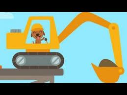 <b>Digger</b> Cartoons for Children - <b>Construction</b> trucks for children Ep#1