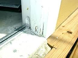 repair rotted wood door bottom bottom of door frame rotted repair rotted door frame repair rotted door jamb