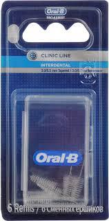 """Сменный <b>ершик</b> Oral-B """"<b>Interdental</b>"""" для <b>межзубной</b> щетки ..."""