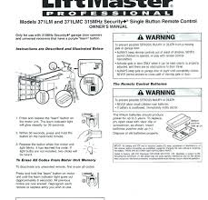 reprogramming liftmaster garage door opener regarding manual ideas 18