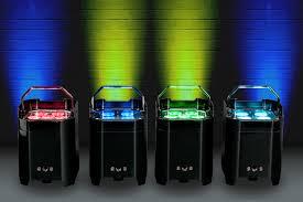 adj element series up lighting fixtures adj introduces flexible new range of battery powered long