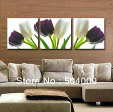 tulip wall art buy modern abstract wall art home decor oil painting on canvas elegant white tulip wall art  on jewelled metal tulip wall art with tulip wall art tulip canvas wall art print modern pictures for