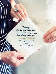 tears of joy hankie wedding gift mother of