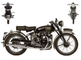 1949 vincent hrd black shadow series c
