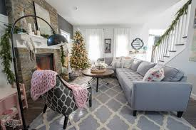 Christmas Living Room Decorating Ideas Interesting 48 Christmas Home Tour