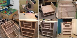 diy desk cost. Built-In Corner Media Cabinet Diy Desk Cost