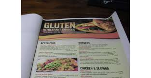 menu sin gluten tgi fridays