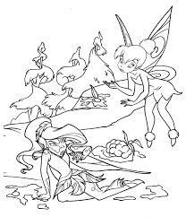 Small Picture Free Printable Tinkerbell Coloring Pages For Kids