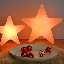 Moree Led Weihnachtsstern Star 40 Kabellos Weiß Transluzent