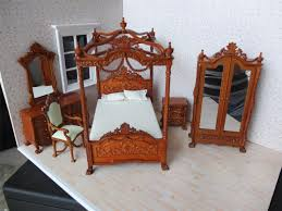 Miniature Dollhouse Bedroom Furniture Watch More Like Miniature Dollhouse Bedroom Furniture