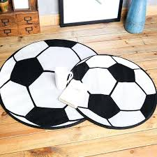 round basketball football rug floor rugs area carpet para boy children kids bedroom cushion pad mat basketball area rug