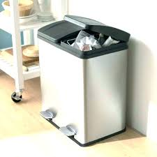 mesmerizing metal kitchen trash can indoor garbage can storage kitchen trash can with lid kitchen garbage