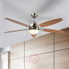 ceiling fan levian with light