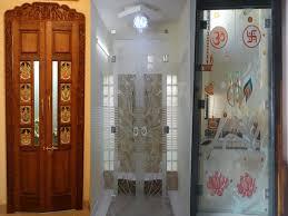 9 traditional pooja room door designs in 2019