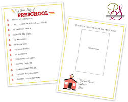 first day of school interviews for kids printables my children and i sat down last week to fill out their pages they had so much fun being the center of attention and when i told them i was going to