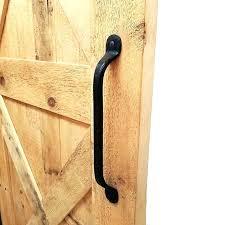 rustic barn door pull barn door pull handles black iron barn door handle pull rustic barn