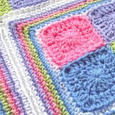 Bonny Baby Blanket Crochet Pattern - WoolnHook by Leonie Morgan & baby blanket crochet pattern Adamdwight.com