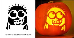 Free Printable Pumpkin Carving Patterns New 48 Best Free Minion Pumpkin Carving Stencils Patterns Ideas For