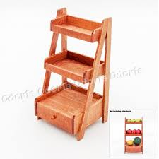 where to buy miniature furniture. Odoria 1:12 Miniature 3 Tire Wood Ladder Shelf Storage With Drawer Dollhouse Furniture Accessories-in Toys From \u0026 Hobbies On Aliexpress.com Where To Buy
