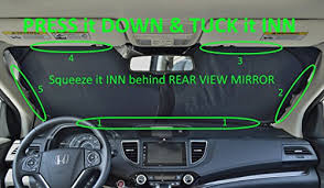 Sunshade Size Chart Windshield Sun Shade Exact Fit Size Chart For Cars Suv