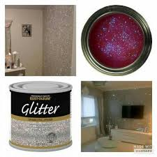 sparkle paint for wallsGlitter on the walls how cool is that  Bedroom Design Ideas