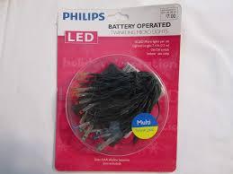 Philips Twinkle Lights Amazon Com Philips 18 Multi Twinkling Lights Led Battery