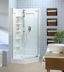 masco aqua glass diy bathtub shower repair kit. tigris angle corner shower - maax. showersbathroom showersshower kits anglesbasements masco aqua glass diy bathtub repair kit