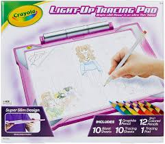 Crayola Crayola Light Up Tracing Pad Crayola Light Up Tracing Pad Pink Amazon Exclusive Toys Gift For Girls Ages 6 7 8 9 10