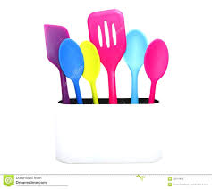 improbable cooking colorful kitchen utensils colorful cooking tools