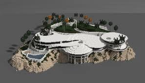 iron man mansion i made in minecraft schematic