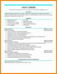 Heavy Equipment Mechanic Resume Home Health Nurse Cover Letter