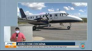 JPB1 | Avião que foi flagrado com cocaína na PB deve ficar a serviço das  forças de segurança