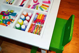 arts and crafts play table ana white