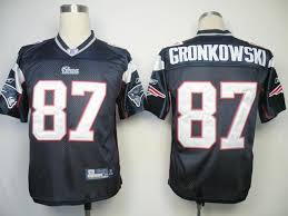 Wholesale Stitched Blue Patriots 87 Gronkowski Cheap Rob Jersey Dark Nfl