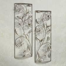 vertical metal wall decor delectable ont design ideas