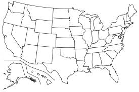Pdf Printable Us States Map New Blank Map Us Blank Us Outline Map